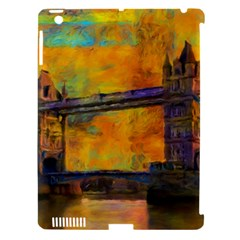 London Tower Abstract Bridge Apple Ipad 3/4 Hardshell Case (compatible With Smart Cover)