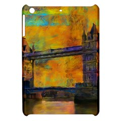 London Tower Abstract Bridge Apple Ipad Mini Hardshell Case