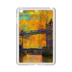 London Tower Abstract Bridge Ipad Mini 2 Enamel Coated Cases
