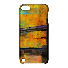 London Tower Abstract Bridge Apple Ipod Touch 5 Hardshell Case With Stand