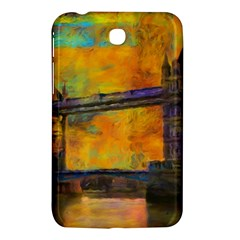 London Tower Abstract Bridge Samsung Galaxy Tab 3 (7 ) P3200 Hardshell Case