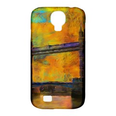 London Tower Abstract Bridge Samsung Galaxy S4 Classic Hardshell Case (pc+silicone)