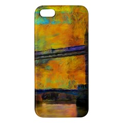 London Tower Abstract Bridge Iphone 5s/ Se Premium Hardshell Case