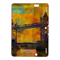 London Tower Abstract Bridge Kindle Fire Hdx 8 9  Hardshell Case