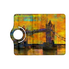 London Tower Abstract Bridge Kindle Fire Hd (2013) Flip 360 Case