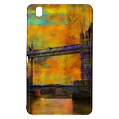 London Tower Abstract Bridge Samsung Galaxy Tab Pro 8 4 Hardshell Case