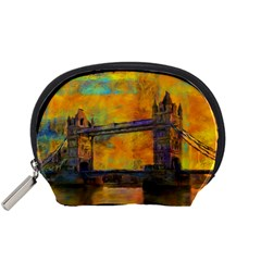 London Tower Abstract Bridge Accessory Pouches (small)