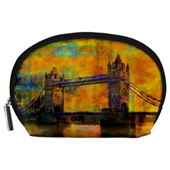 London Tower Abstract Bridge Accessory Pouches (large)