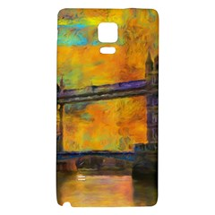 London Tower Abstract Bridge Galaxy Note 4 Back Case