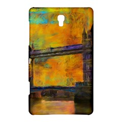 London Tower Abstract Bridge Samsung Galaxy Tab S (8.4 ) Hardshell Case