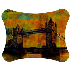 London Tower Abstract Bridge Jigsaw Puzzle Photo Stand (bow)