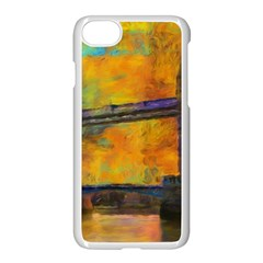 London Tower Abstract Bridge Apple Iphone 7 Seamless Case (white)