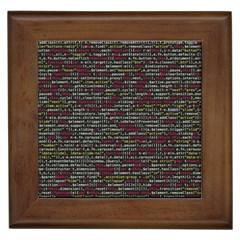 Full Frame Shot Of Abstract Pattern Framed Tiles