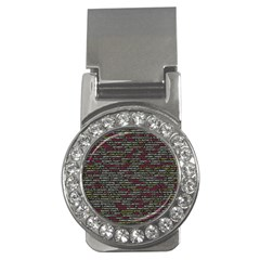 Full Frame Shot Of Abstract Pattern Money Clips (cz)