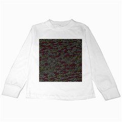 Full Frame Shot Of Abstract Pattern Kids Long Sleeve T Shirts