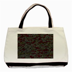 Full Frame Shot Of Abstract Pattern Basic Tote Bag