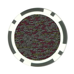 Full Frame Shot Of Abstract Pattern Poker Chip Card Guards
