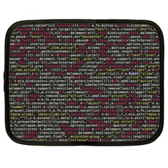 Full Frame Shot Of Abstract Pattern Netbook Case (xxl)