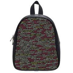 Full Frame Shot Of Abstract Pattern School Bags (Small)