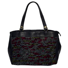 Full Frame Shot Of Abstract Pattern Office Handbags