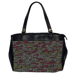 Full Frame Shot Of Abstract Pattern Office Handbags (2 Sides)