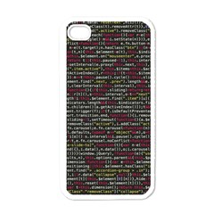 Full Frame Shot Of Abstract Pattern Apple Iphone 4 Case (white)