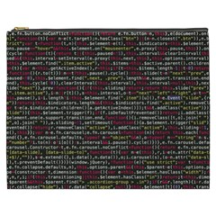 Full Frame Shot Of Abstract Pattern Cosmetic Bag (xxxl)