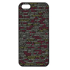 Full Frame Shot Of Abstract Pattern Apple Iphone 5 Seamless Case (black)