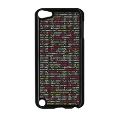 Full Frame Shot Of Abstract Pattern Apple Ipod Touch 5 Case (black)