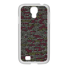 Full Frame Shot Of Abstract Pattern Samsung Galaxy S4 I9500/ I9505 Case (white)