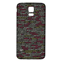 Full Frame Shot Of Abstract Pattern Samsung Galaxy S5 Back Case (white)