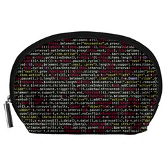 Full Frame Shot Of Abstract Pattern Accessory Pouches (large)
