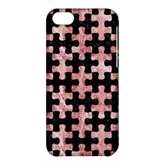 Puzzle1 Black Marble & Red & White Marble Apple Iphone 5c Hardshell Case