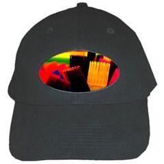 Plastic Brush Color Yellow Red Black Cap