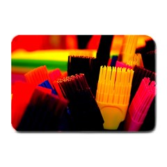 Plastic Brush Color Yellow Red Plate Mats
