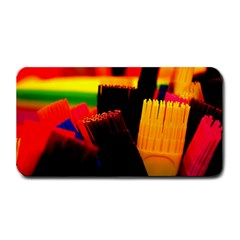 Plastic Brush Color Yellow Red Medium Bar Mats