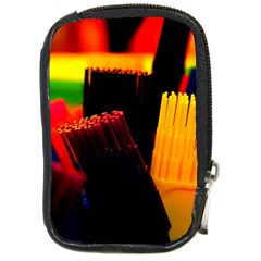 Plastic Brush Color Yellow Red Compact Camera Cases