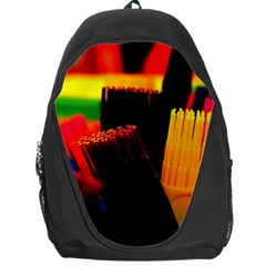 Plastic Brush Color Yellow Red Backpack Bag