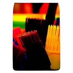 Plastic Brush Color Yellow Red Flap Covers (l)