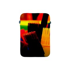 Plastic Brush Color Yellow Red Apple Ipad Mini Protective Soft Cases