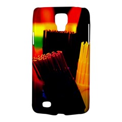 Plastic Brush Color Yellow Red Galaxy S4 Active