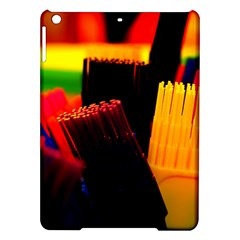Plastic Brush Color Yellow Red Ipad Air Hardshell Cases
