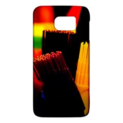 Plastic Brush Color Yellow Red Galaxy S6