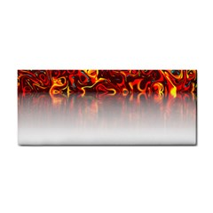Effect Pattern Brush Red Cosmetic Storage Cases
