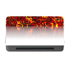 Effect Pattern Brush Red Memory Card Reader With Cf