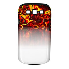 Effect Pattern Brush Red Samsung Galaxy S Iii Classic Hardshell Case (pc+silicone)
