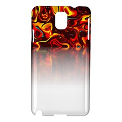 Effect Pattern Brush Red Samsung Galaxy Note 3 N9005 Hardshell Case