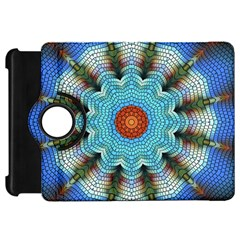Pattern Blue Brown Background Kindle Fire Hd 7