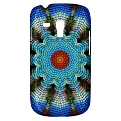 Pattern Blue Brown Background Galaxy S3 Mini