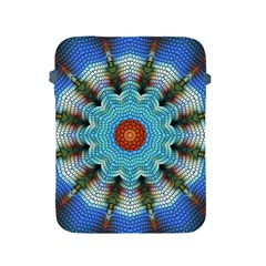 Pattern Blue Brown Background Apple Ipad 2/3/4 Protective Soft Cases